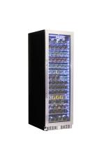 SCHMICK BD425W Upright Glass Door Wine Display ...