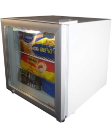 DELLWARE DW-SD50 Mini Glass Door Freezer