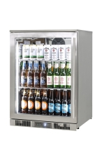 RHINO ENV1L-SS Outdoor Glass Door Bar Fridge...