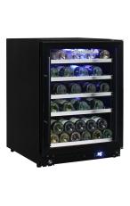 SCHMICK JC132W-B Triple Glazed Glass Display Wi...
