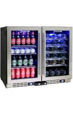 SCHMICK JC95-COMBO Dual Zone Wine & Beer Ba...