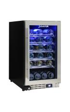 SCHMICK JC95W Triple Glazed Glass Display Bar F...