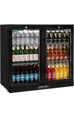 RHINO SG2H-B 2 Door Commercial Glass Door Bar F...