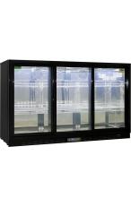 RHINO SG3S-B 3 Door Commercial Glass Display Ba...