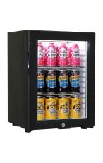 SCHMICK SK40-B Black Glass Door Mini Bar Fridge...