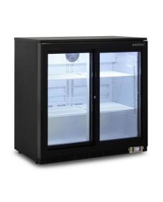 Bromic BB0200GDS-NR Back Bar Glass Door Display Chiller 190L Sliding Door