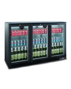Bromic BB0330GD-NR Back Bar Glass Door Display Chiller 307L